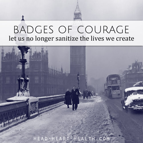 badges of courage