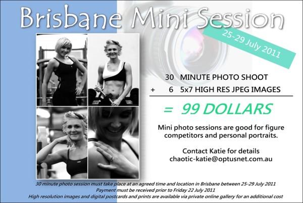 Brisbane Mini Session
