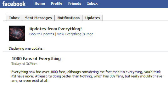 everything facebook fans