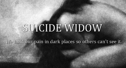 suicide widow