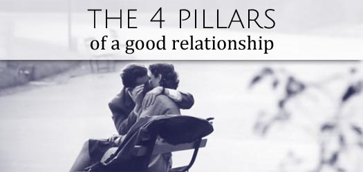 four pillars of a good relationship T