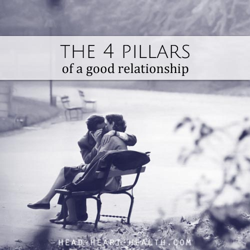 four pillars of a good relationship