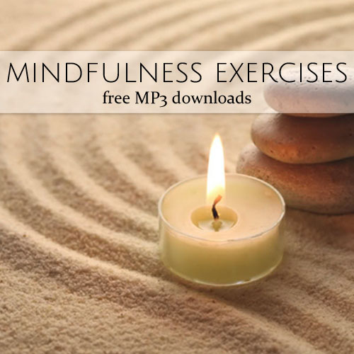 mindfulness exercises free mp3 downloads