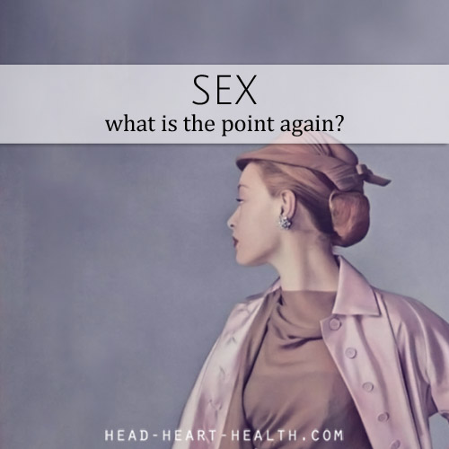 what is the point of sex