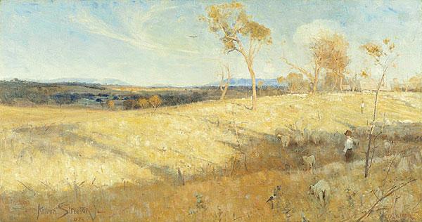 Golden Summer Arthur Streeton