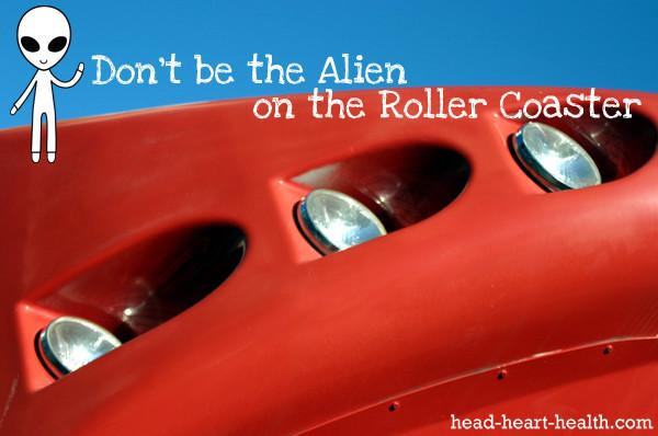alien roller coaster