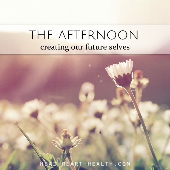 the afternoon - creating our future selves