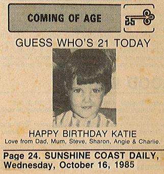 Katie 21st