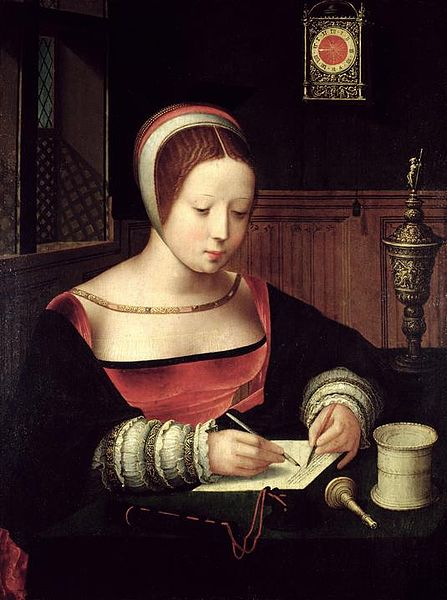 Mary Magdalene Writing