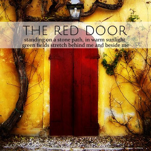 The Red Door • from head-heart-health.com