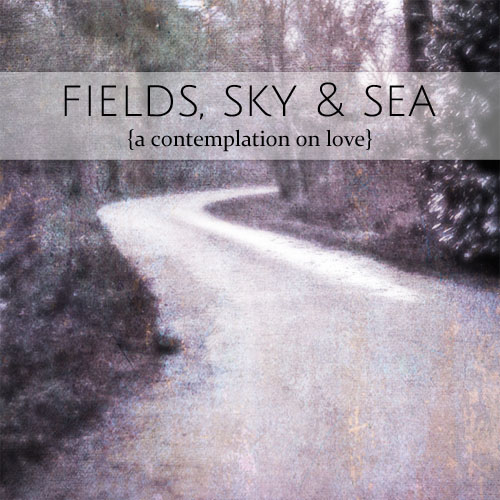 fields sky sea