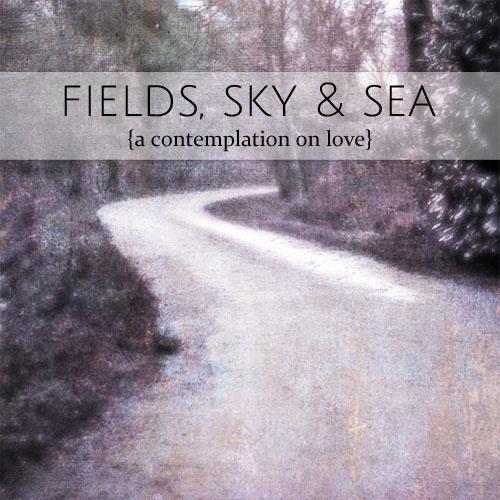 fields sky sea