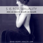 S is for Sexuality • #atozchallenge