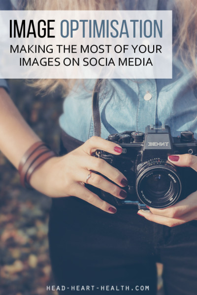 image optimisation - making the most of your images on social media PIN