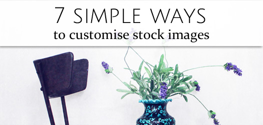 customise stock images twitter