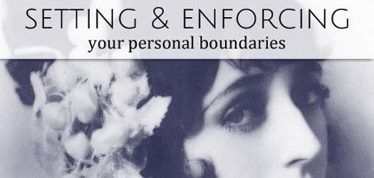 personal boundaries T