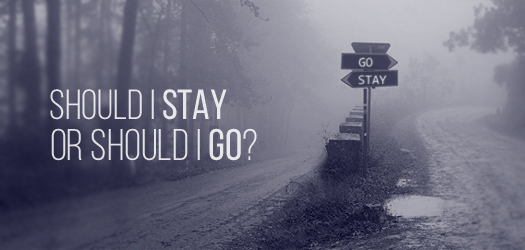 stay or go T