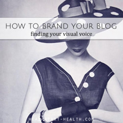 brand your blog visual voice
