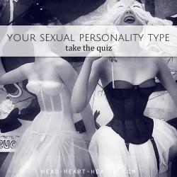 SEXUAL PERSONALITY TYPE QUIZ