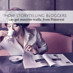 blogging traffic from pinterest