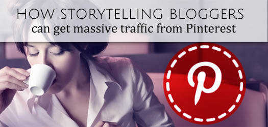 Blogging traffic from Pinterest