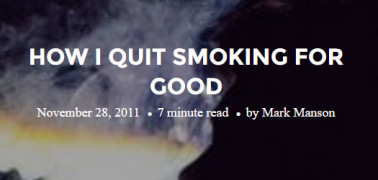 mm quit smoking