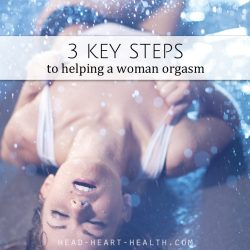 3 keys steps to orgasm